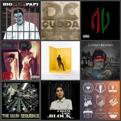 Rap Music Collection Pack 106 (2019)